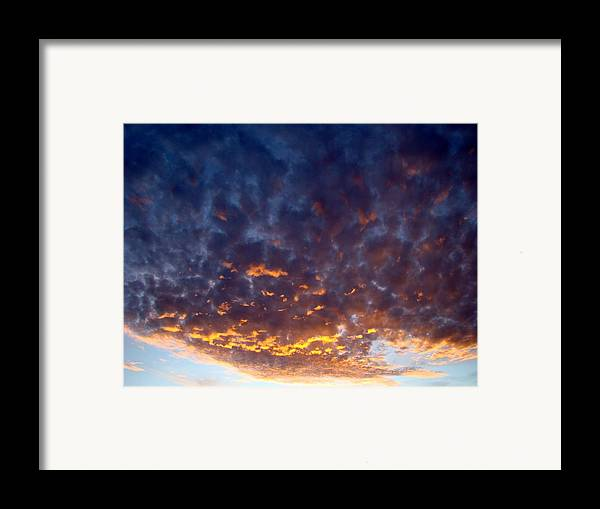 Cloud Framed Print featuring the photograph Supernatural Cloud One by Ana Villaronga