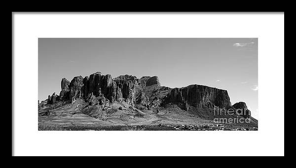 Superstition Framed Print featuring the photograph Superstition by Kenneth Hess
