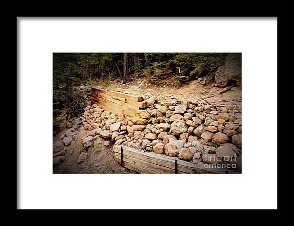 Pathway Framed Print featuring the photograph Support by Beauty For God