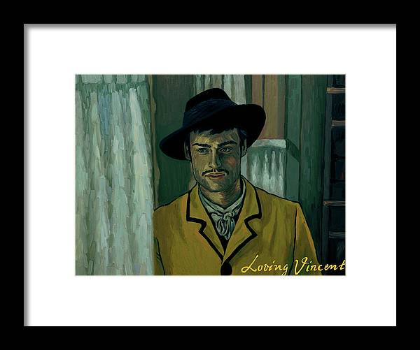 Framed Print featuring the painting Sure by Elizabeth Hristova - Lisa