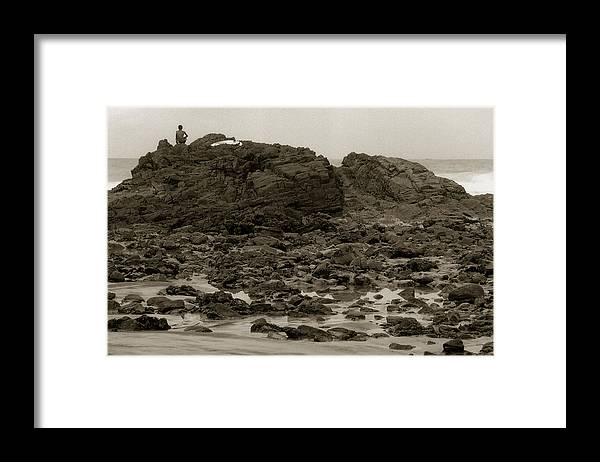 Surf Framed Print featuring the photograph Surfer by Amarildo Correa