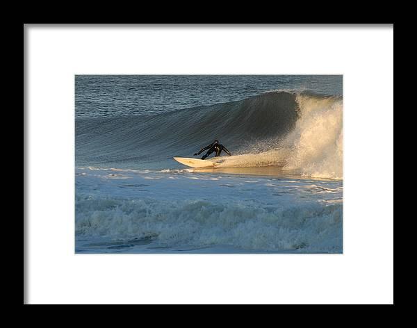 Surfer Art Framed Print featuring the photograph Surfing 79 by Joyce StJames