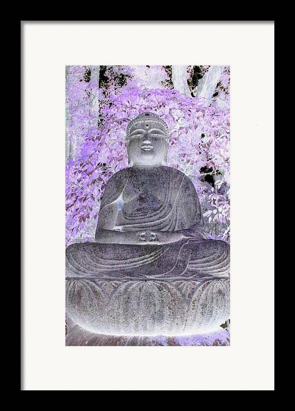 Surreal Framed Print featuring the photograph Surreal Buddha by Curtis Schauer