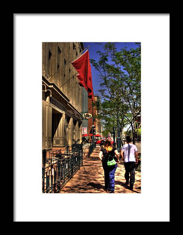 Denver Framed Print featuring the photograph Suzy And Jason by Laurie Prentice