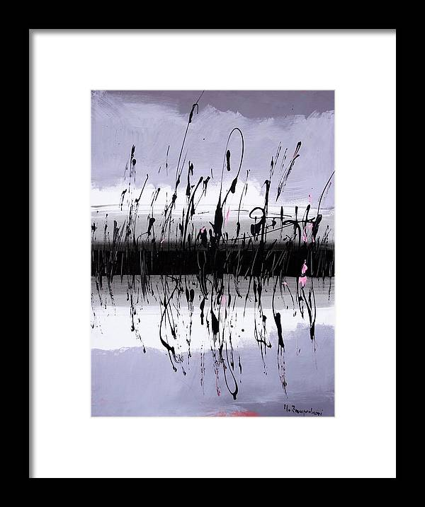 Swamp Framed Print featuring the painting Swamp by Mario Zampedroni