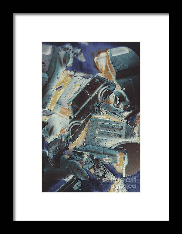 Abstract Framed Print featuring the photograph Sweet Destruction by Jorgo Photography - Wall Art Gallery