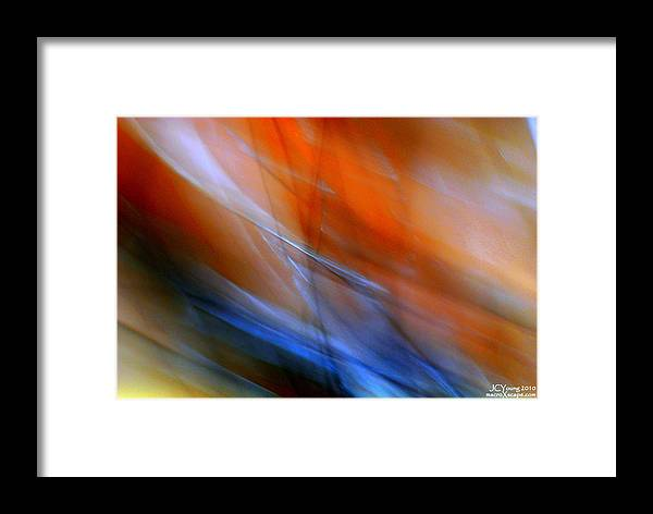 Impressionist Framed Print featuring the photograph Swept Away by Jim Young