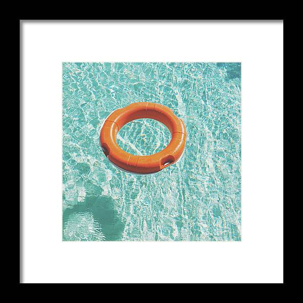 Water Framed Print featuring the photograph Swimming Pool III by Cassia Beck