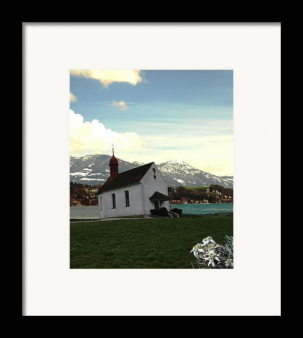 Spring Framed Print featuring the photograph Swiss Hope by Chuck Shafer