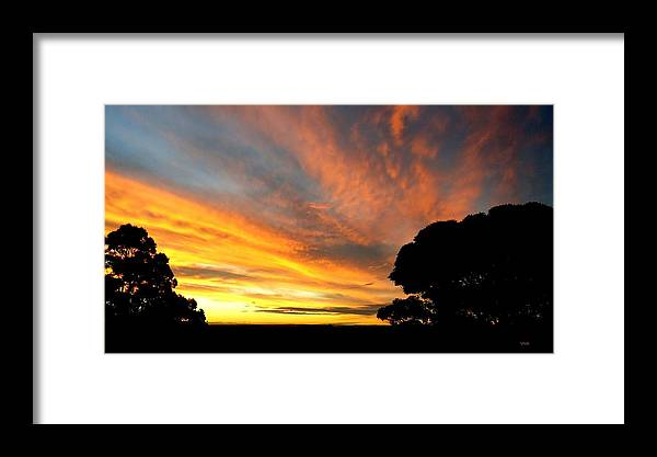 Viva Framed Print featuring the photograph Sydney Sunset 10-06 by VIVA Anderson