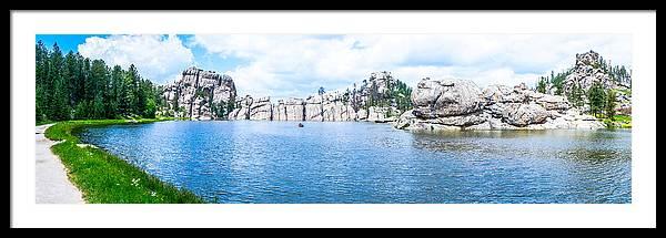 Sylvan Lake, Custer State Park, South Dakota by Art Spectrum
