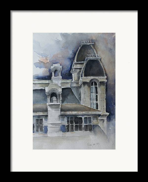 Syracuse university framed print by michael lang for Plan and print syracuse