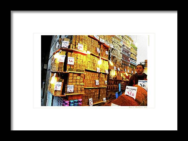 Syria Framed Print featuring the photograph Syria 1 by Polo Correia
