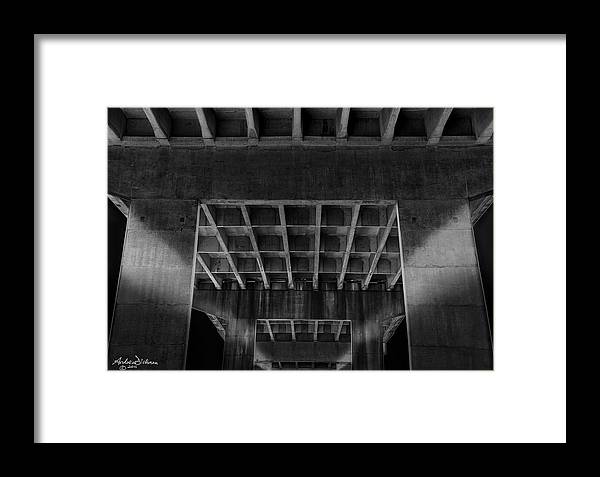 Bridge Framed Print featuring the photograph T R O L L by Andrew Dickman