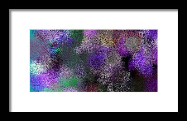 Abstract Framed Print featuring the digital art T.1.1251.79.2x1.5120x2560 by Gareth Lewis