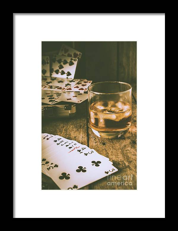 West Framed Print featuring the photograph Table Games And The Wild West Saloon by Jorgo Photography - Wall Art Gallery