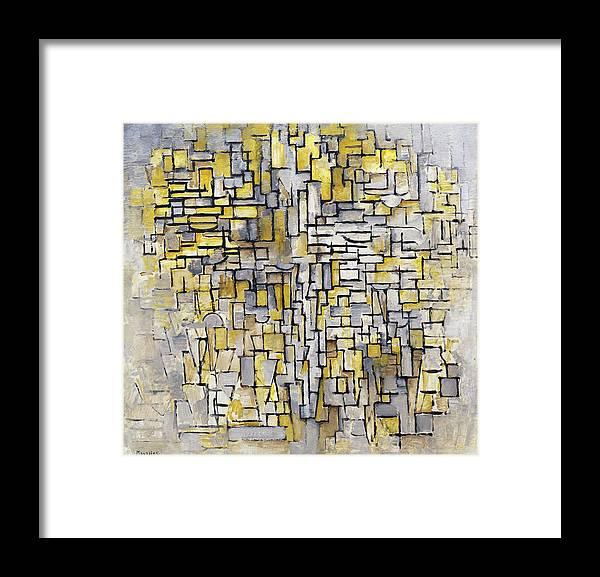 Tableau 2 Composition Vii Framed Print By Piet Mondrian