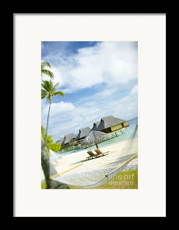 10-pfs0158 Framed Print featuring the photograph Tahiti, Bora Bora by Kyle Rothenborg - Printscapes