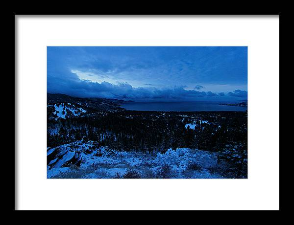 Lake Tahoe Framed Print featuring the photograph Tahoe Dawning by Sean Sarsfield