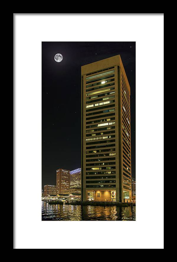 2d Framed Print featuring the photograph Tall Drink Of Water by Brian Wallace