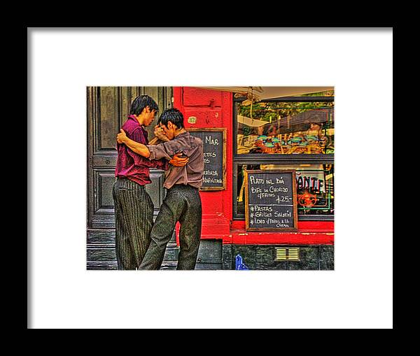 Tango Framed Print featuring the photograph Tango by Francisco Colon