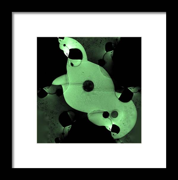 Bone Framed Print featuring the photograph Taniwha by Edan Chapman