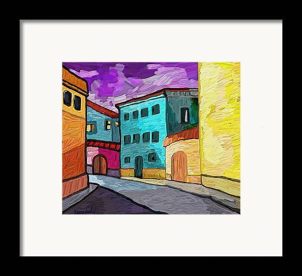 Figurative Framed Print featuring the painting Tarraco by Xavier Ferrer