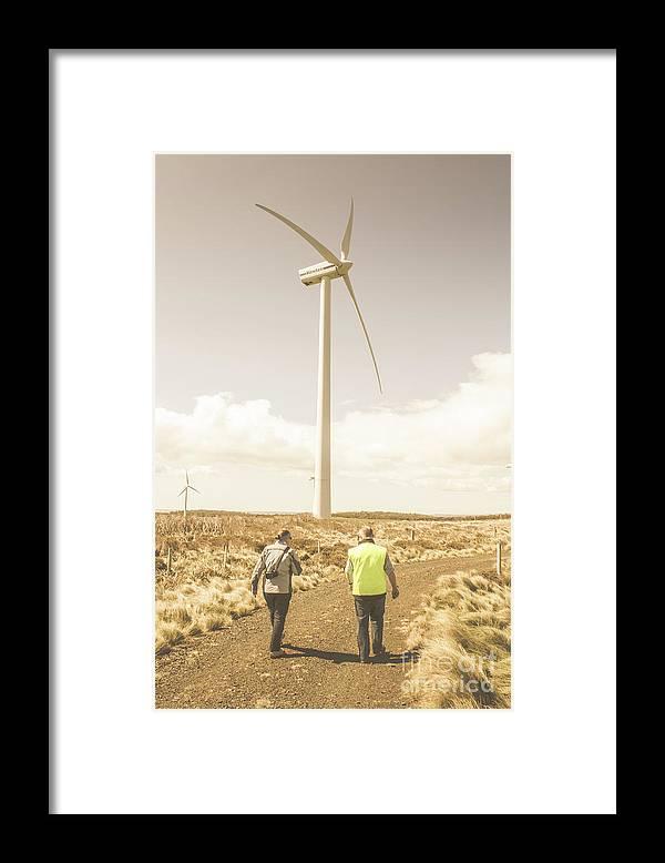 Turbine Framed Print featuring the photograph Tasmania Turbine Tours by Jorgo Photography - Wall Art Gallery