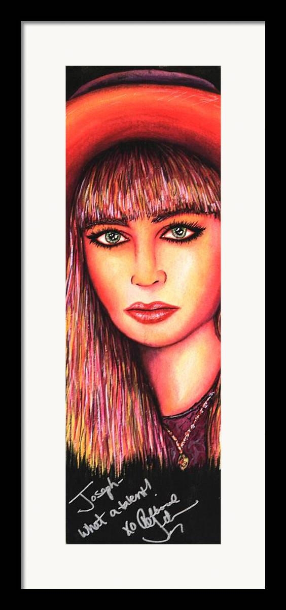 80's Framed Print featuring the mixed media Teen Lost by Joseph Lawrence Vasile