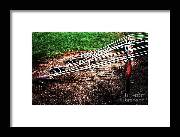 Kids Framed Print featuring the photograph Teeter Totter by Robin Lynne Schwind