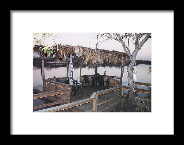Landscape Framed Print featuring the photograph Teka Hut by Wendell Baggett