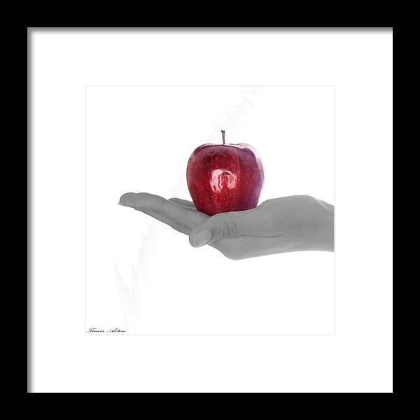 Fine Art Framed Print featuring the photograph Temptation Part 1 by Travis Aston