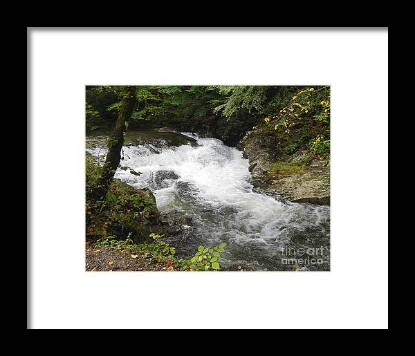 River Framed Print featuring the digital art Tennessee River by Phil Perkins