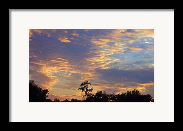 Sunset Framed Print featuring the print Tennessee Sunset by Beverly Baxter