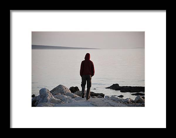 Sea Framed Print featuring the photograph Terminal Beach by Marko Raos