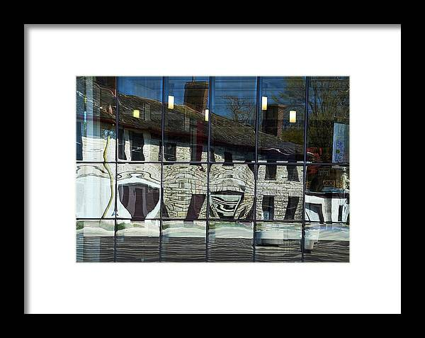 Tett Centre Framed Print featuring the photograph Tett Centre Reflection by Nicole Couture-Lord