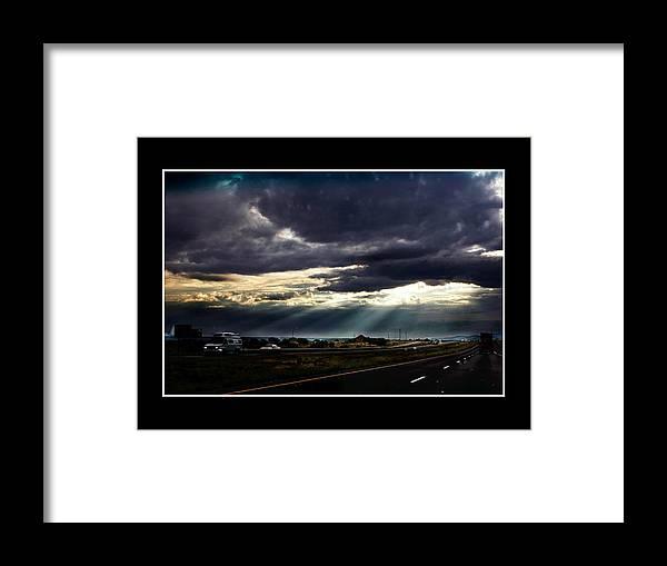 Photo Framed Print featuring the photograph TexasSky by Richard Gordon