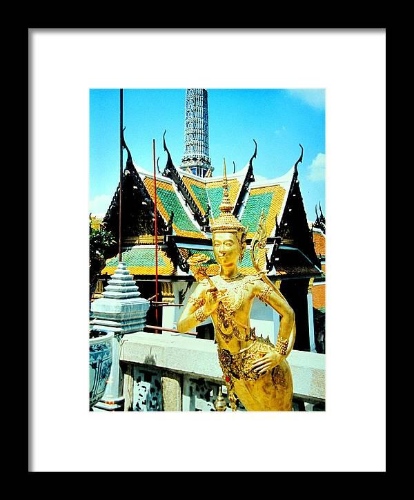 Bangcock Framed Print featuring the photograph Thailand by Ian MacDonald