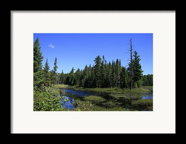 Landscape Framed Print featuring the photograph Thank You Mother by Alan Rutherford