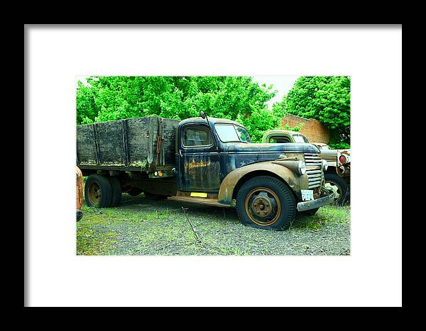 Rural Framed Print featuring the photograph That Slow Decline by Jeff Swan