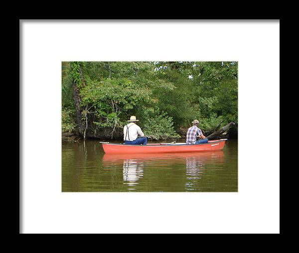 Fishing Framed Print featuring the photograph The Amish Way by PJ Cloud