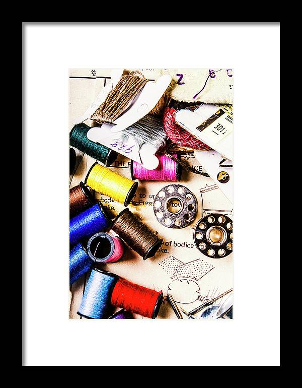 Craft Framed Print featuring the photograph The Art Of Craft by Jorgo Photography - Wall Art Gallery