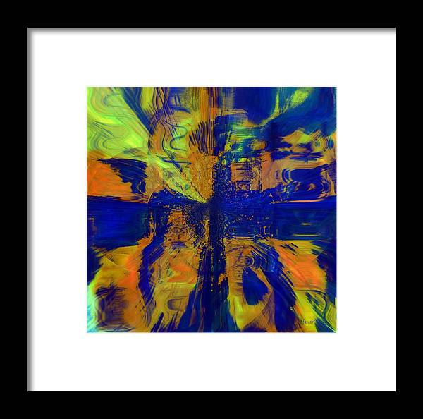Fania Simon Framed Print featuring the mixed media The Art Of Understanding Perspective by Fania Simon