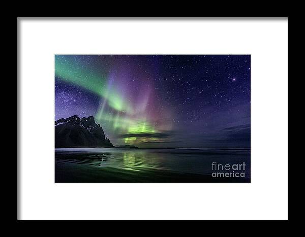 Kremsdorf Framed Print featuring the photograph The Astral Wake Of Time by Evelina Kremsdorf
