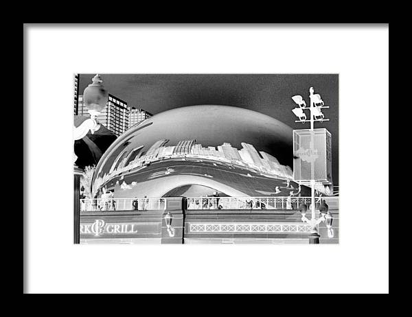Bean Framed Print featuring the photograph The Bean - 1 by Ely Arsha