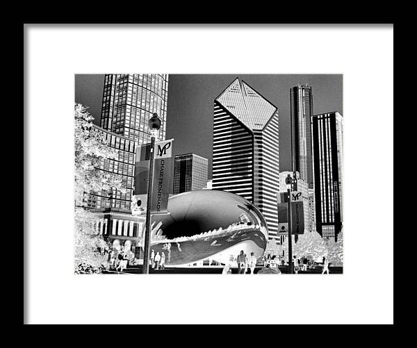 The Bean Framed Print featuring the photograph The Bean - 2 by Ely Arsha