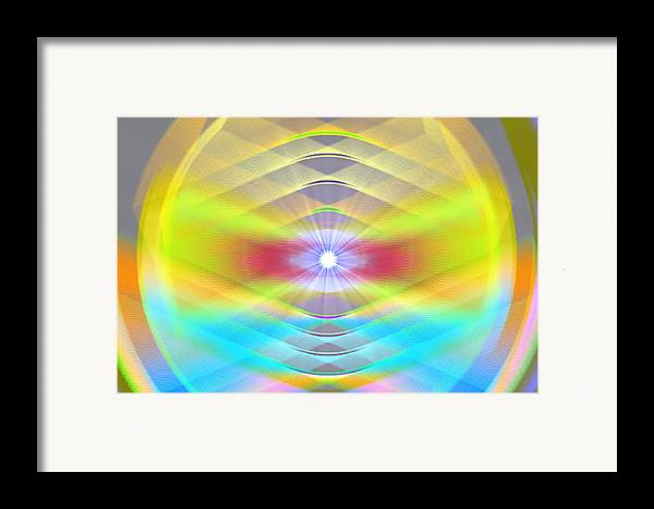 Framed Print featuring the digital art The Begin by Andreas R Wesener