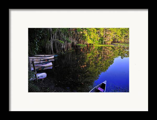 Skip Hunt Framed Print featuring the photograph The Black Lagoon by Skip Hunt