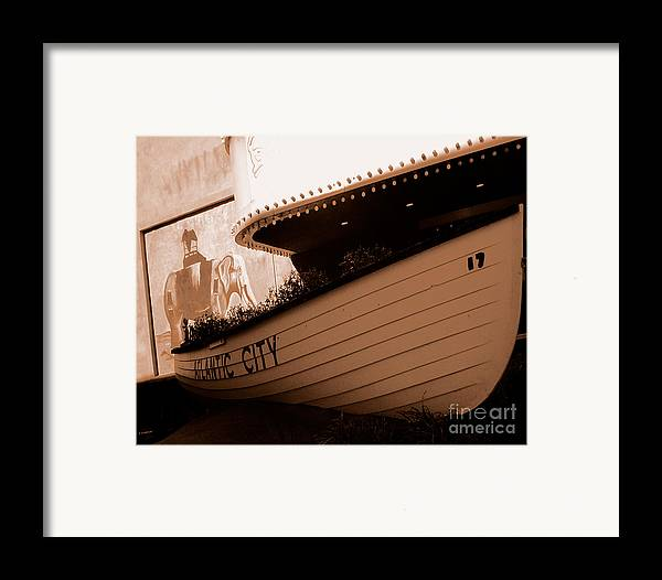 Boats Framed Print featuring the photograph The Boardwalk by Heather Weikel