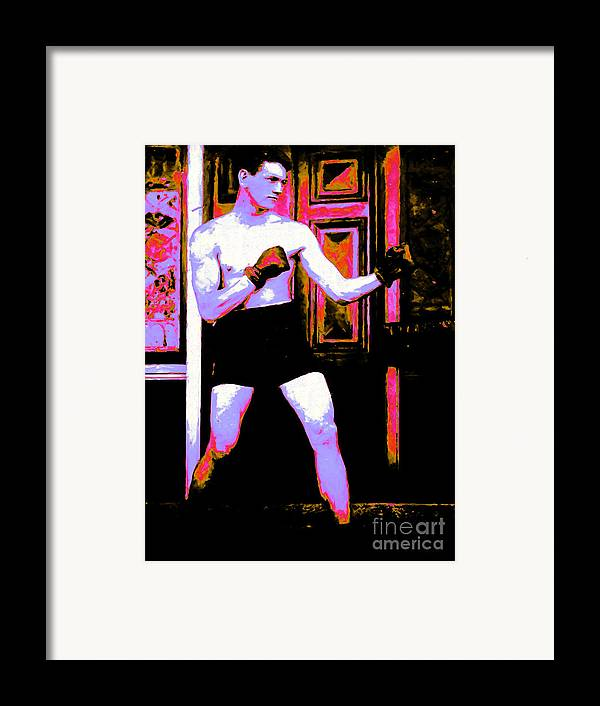Sport Framed Print featuring the photograph The Boxer - 20130207 by Wingsdomain Art and Photography